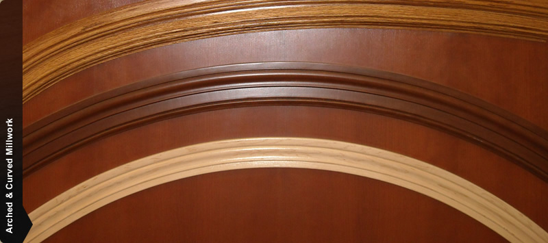 Arched & Curved Millwork